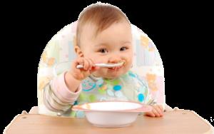 Como iniciar a alimentação complementar do seu bebê.