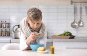 Como melhorar a imunidade da criança pela alimentação?