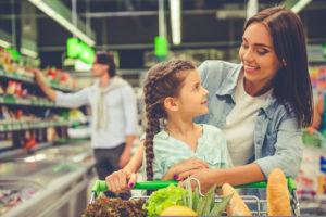lista de supermercado saudável