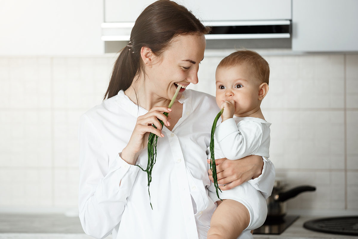 Introdução alimentar e janela imunológica: como alimentar o bebê?