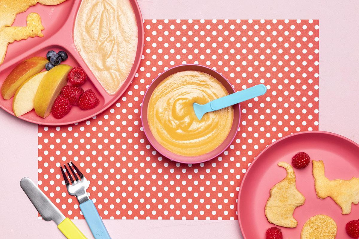 Qual é a quantidade de comida que o bebê deve comer por dia?